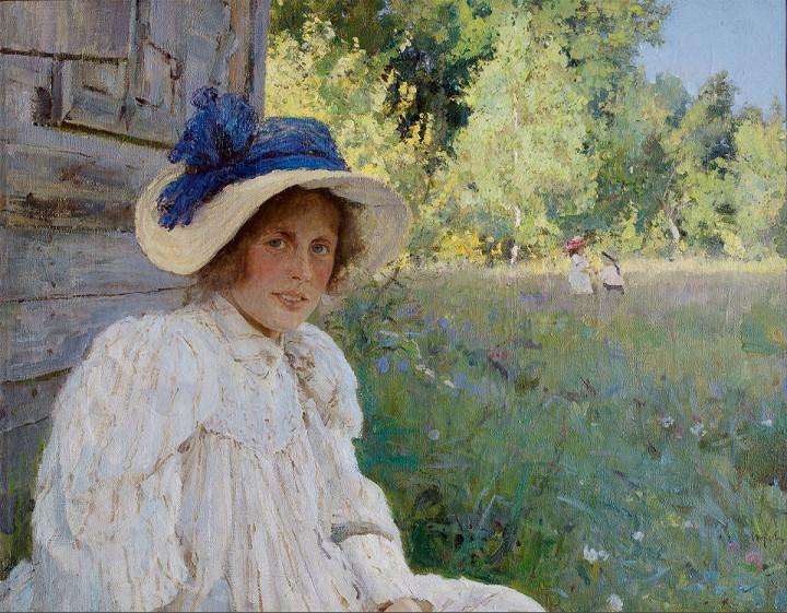 «Летом» (портрет О.Ф. Серовой)