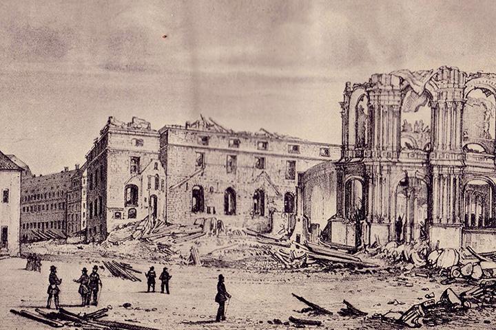 Революция 1848 года в Дрездене