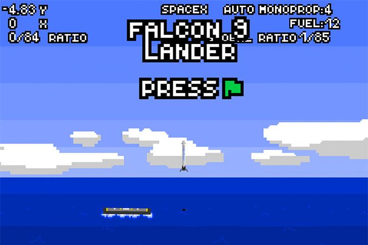 Легко ли посадить ракету Falcon 9 на крошечную платформу