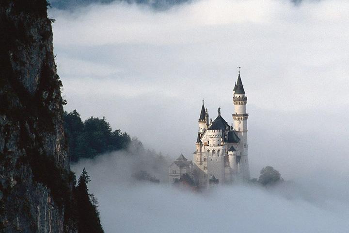 Замок Нойвайнштайн