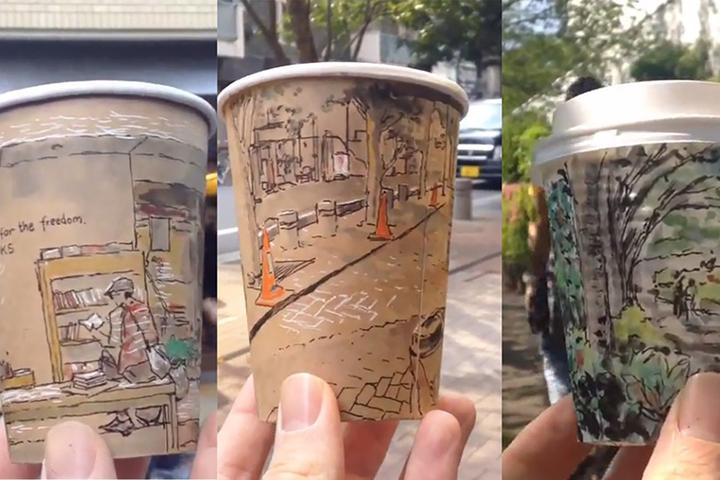 Городские сюжеты на кофе