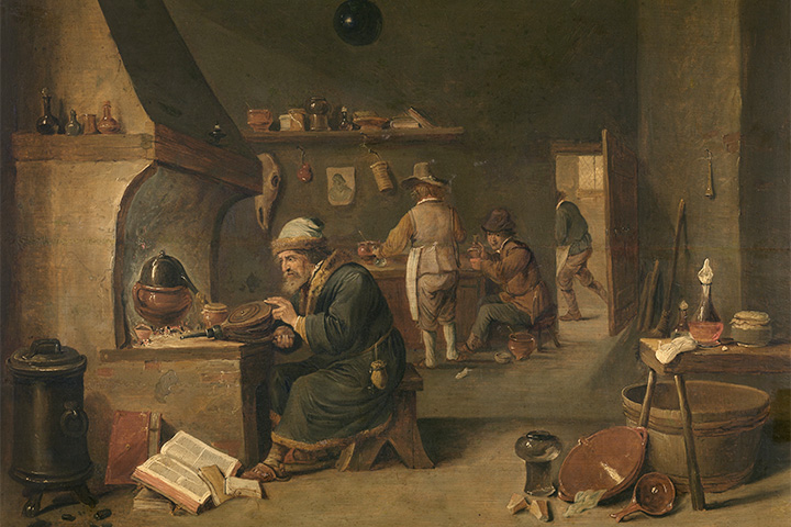 The Alchemist, David Teniers the Younger