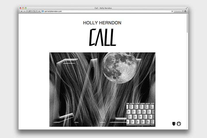 Call. Холли Херндон, Мэт Драйхерст, Metahaven, музыка, веб, 2014