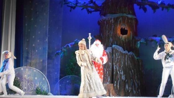 Театр: Снежинка на ладони