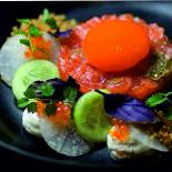 Ресторан Коптим - фотография 2 - Тар-тар из нерки