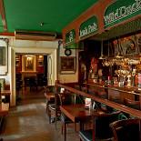 Ресторан Wild Duck - фотография 2 - Первый зал с барной стойкой.
