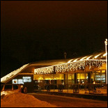 Ресторан Золотая Орда - фотография 1 - Зимний вид ресторана