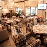Ресторан I Want Cafe - фотография 3 - Каминный зал I WANT cafe
