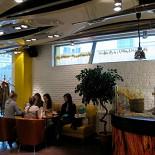 Ресторан Поль-бейкери - фотография 3 - Зал второго этажа кафе