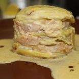 Ресторан Calcio - фотография 5 - Картофельный гратен с лососем