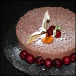 Ресторан Vcafe - фотография 2 - Шоколадный торт на заказ