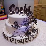 Ресторан Sochi - фотография 6 - Праздничный торт