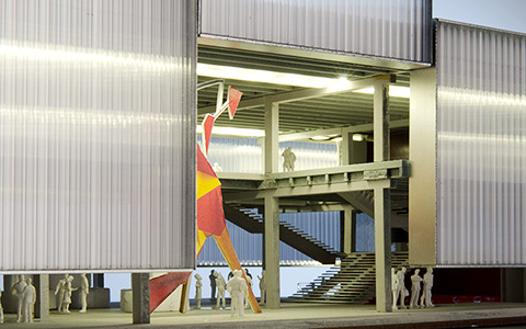 Новый павильон музея «Гараж»