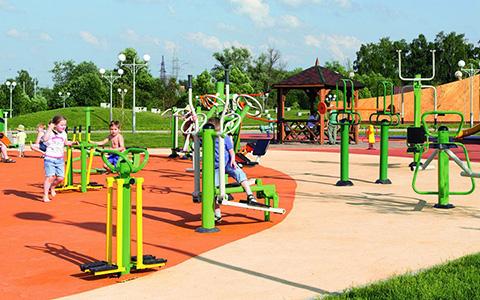 Спортивный парк в Троицком районе