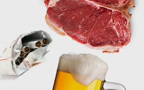 Как прожить без алкоголя, сигарет, мяса, фейсбука и углеводов