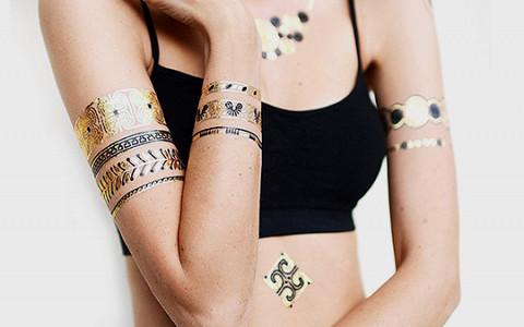 Как золотые татуировки захватили мир и почему их не надо стесняться