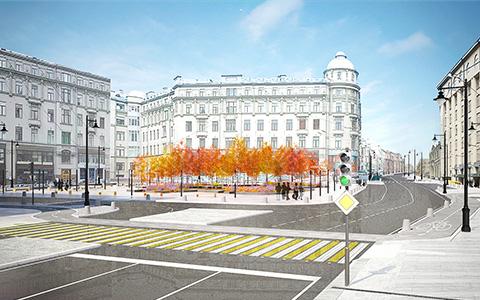 Как превратить Большую Лубянку и Сретенку в новую пешеходную зону