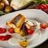 """Ресторан Песто - фотография 4 - Филе судака, мини-картофелем , фенхель, томатами черри с соусом """"Белое вино"""" и томатным соусом."""
