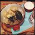 Ресторан Valenki & Varezhka - фотография 1 - Пельмени из нежного тонкого теста  и мяса ,бульон и сметана -очень вкусно