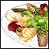 Ресторан Бир Хоф - фотография 38 - Ассорти из рулетиков: микс рулетиков из нескольких видов мяса.