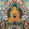Танка — искусство философии, медитации и йоги. Буддийская живопись Николая Дудко
