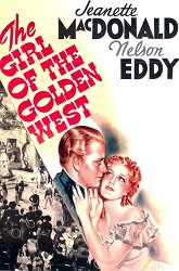 Постер Девушка Золотого Запада