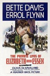 Постер Частная жизнь Елизаветы и Эссекса