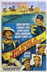Постер Она носила желтую ленту