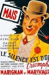 Постер Молчание — золото