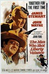 Постер Человек, который застрелил Либерти Вэланса