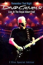 Постер David Gilmour Remember That Night