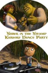 Постер Караоке-вечеринка Шрека на болоте