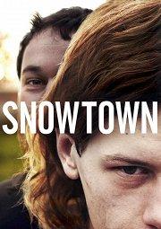Постер Снежный город