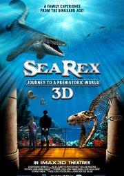 Постер Морские динозавры 3D: Путешествие в доисторический мир