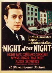 Постер Ночь за ночью