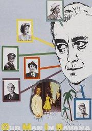 Постер Наш человек в Гаване