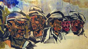 1937. Выставка художника Василия Маслова