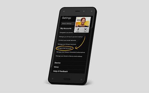 Amazon Fire Phone: телефон одной кнопки