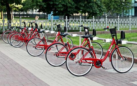 В городе открылись новые пункты велопроката
