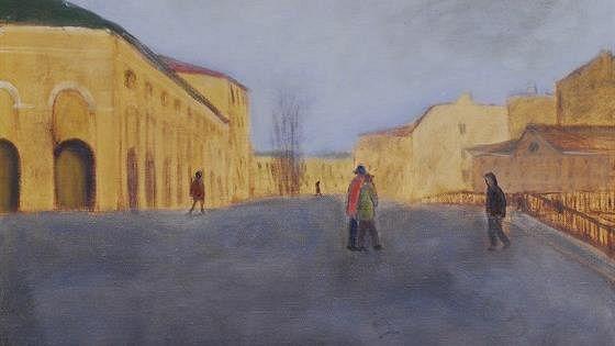 Лариса Голубева: Петербург. Прогулка по городу