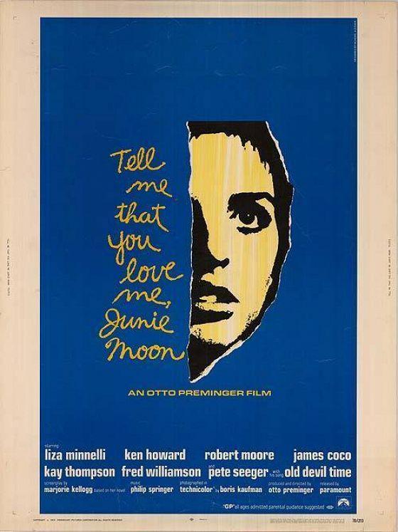 Скажи, что ты любишь меня, Джуни Мун (Tell Me That You Love Me, Junie Moon)