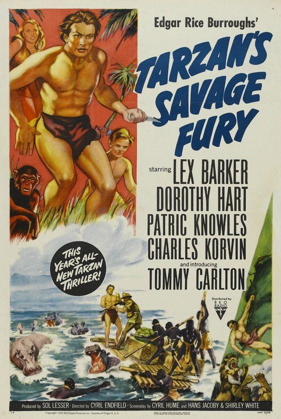 Дикая ярость Тарзана (Tarzan's Savage Fury)