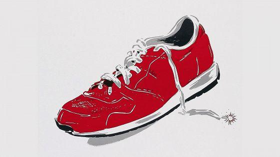 Человек в красном ботинке (The Man with One Red Shoe)
