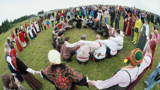 Этноландшафтный фестиваль «Зов Пармы»