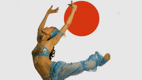 Шинобу Такита и звезды балета
