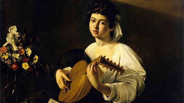 Микеланджело Меризи да Караваджо. «Юноша с лютней»