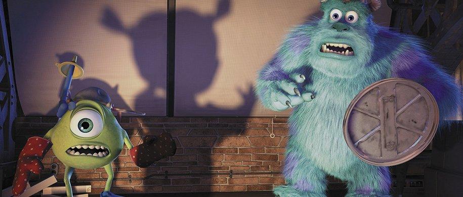 мультфильмов про жутких, веселых и несносных монстров
