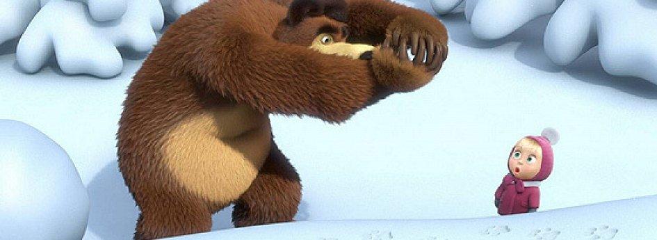 Кино: «Маша и Медведь: Следы невиданных зверей»