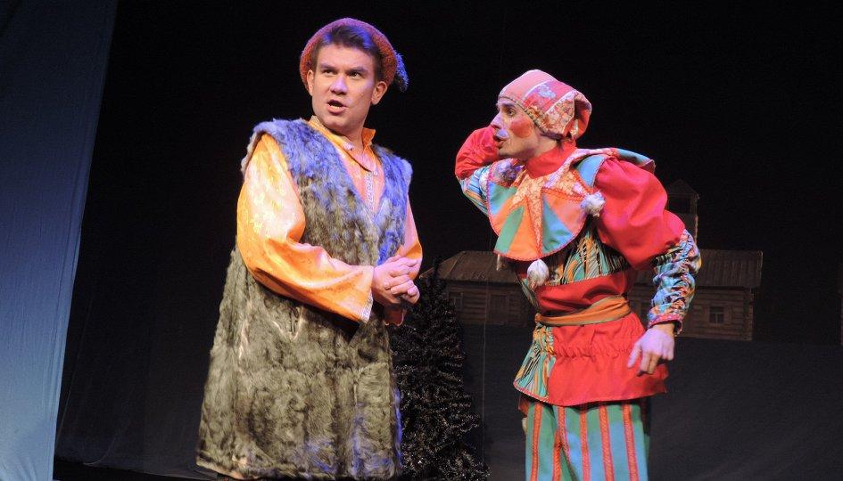 Петрушка и Витязь
