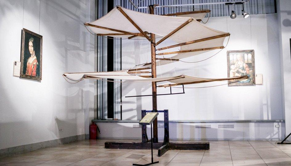 Выставки: 2019 год — 500-летие наследия Леонардо да Винчи